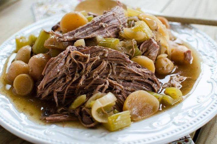 Beef Pot Roast - (S) www.TrimHealthyMama.com