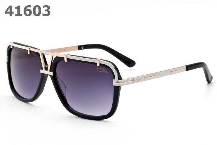 Cazal Sunglasses 8003 silver purple lens