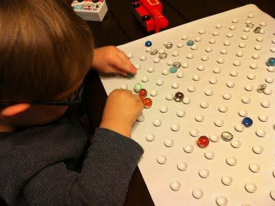 Bath Mat, Glass Gems, and Marbles Activity. Low cost fine motor activity. Pinned by SOS Inc. Resources. Follow all our boards at http://pinterest.com/sostherapy for therapy resources.