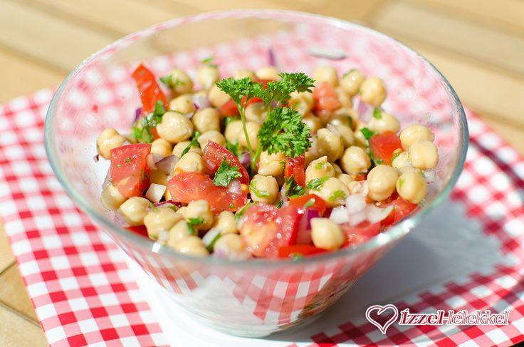 Ízzel-lélekkel készült receptek: 5 perces csicseriborsó saláta portugál módra
