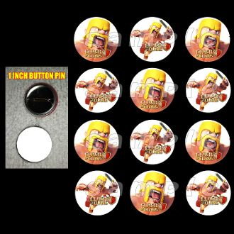 CLASH OF CLANS BUTTONS