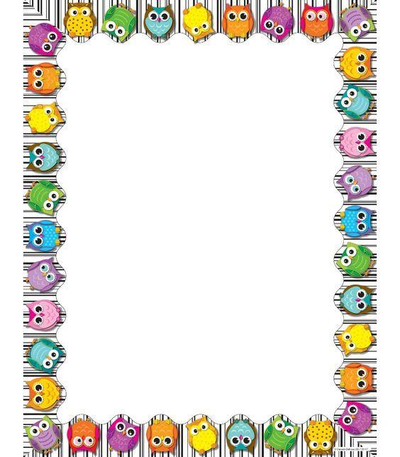 Classroom Wallpaper Design : Owl blank paper kidscanhavefun google keresés