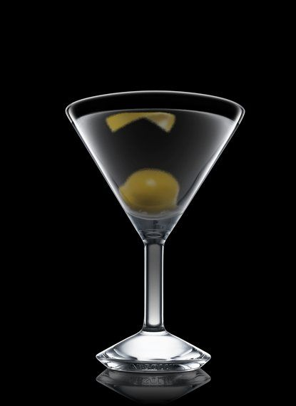 Absolut Vodka Martini - Fill a mixing glass with ice cubes. Add all ingredients. Stir and strain into a chilled cocktail glass. Garnish with lemon and a green olive. 6 Parts Absolut Vodka, 1 Part Dry Vermouth, 1 Twist Lemon, 1 Whole Green Olive
