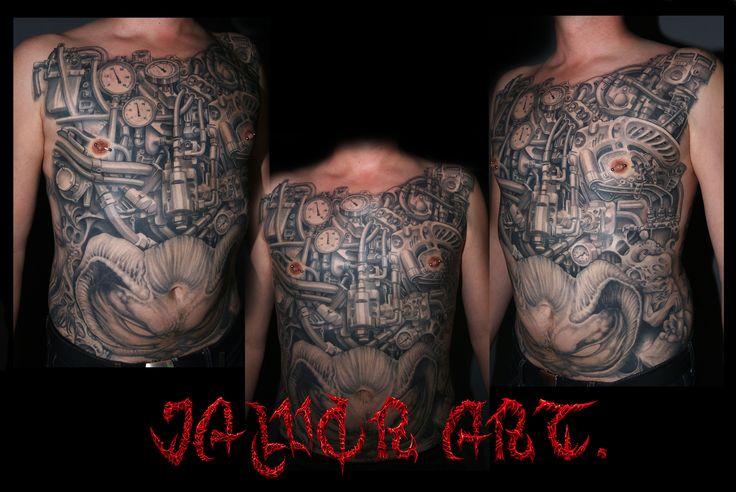 biomechanic tattoo# biomechanic suit tattoo