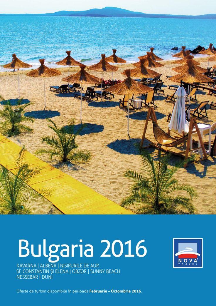 Catalog Nova Travel Oferte Bulgaria Vara 2016!Oferte si recomandari: Hotel Kaliakra, 4 stele, de la 99 euro/camera; Hotel Malibu, 4 stele