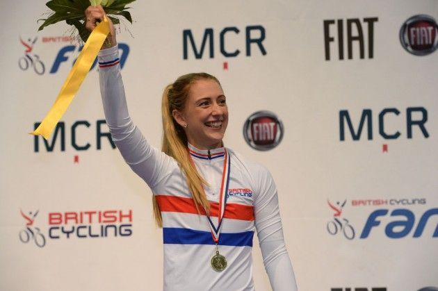Laura Trott, British Track National Championships 2015