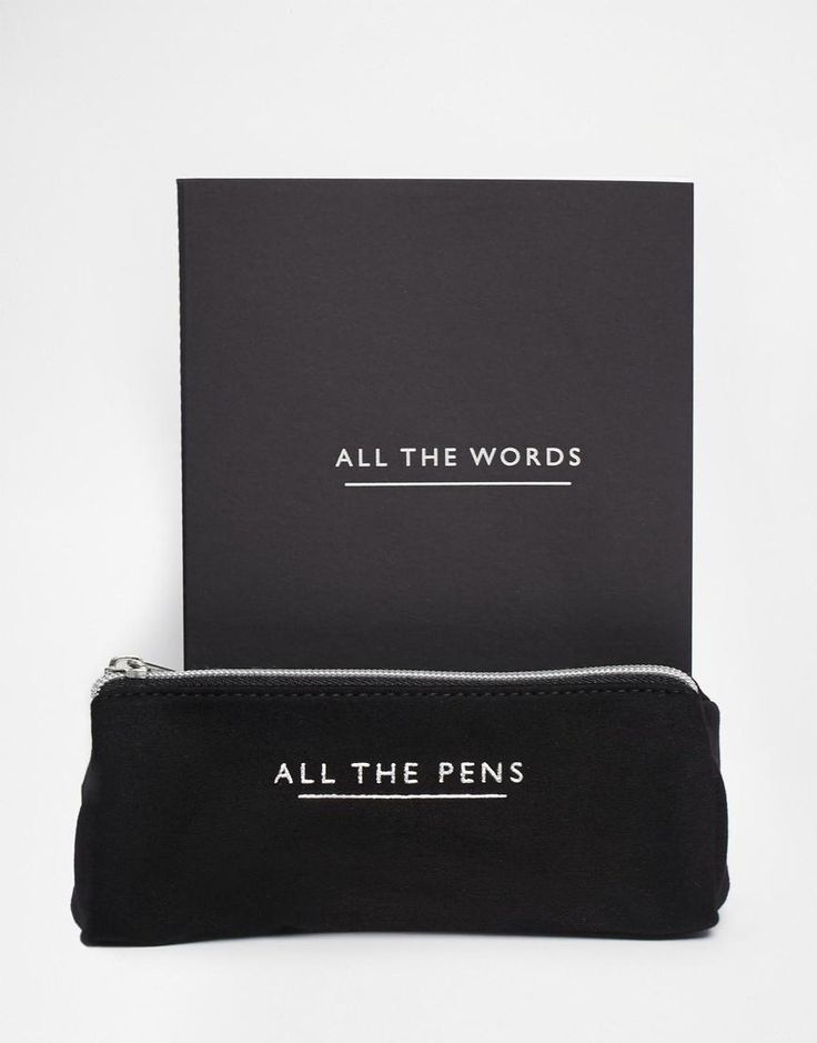 ASOS | ASOS Gift Set With Note Book And Pencil Case at ASOS