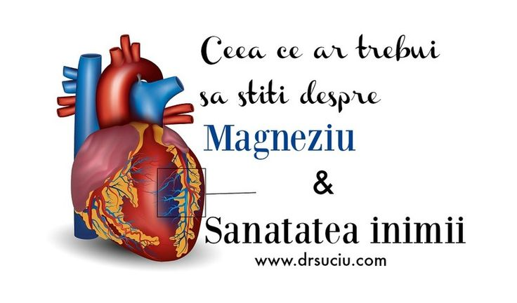Deficitul in magneziu poate afecta serios sanatatea inimii