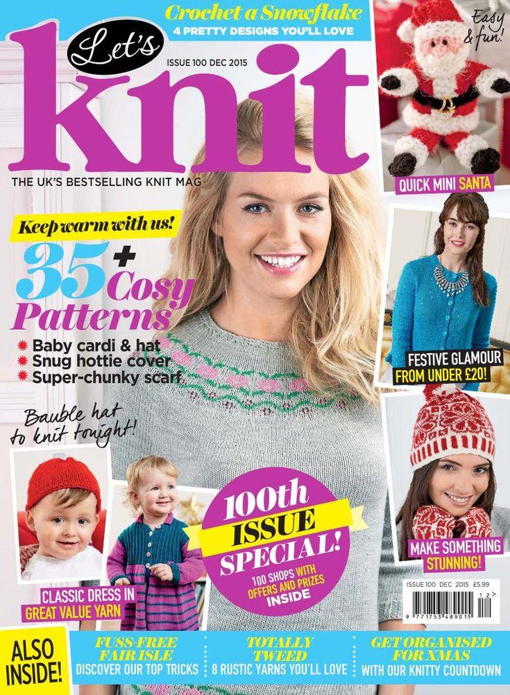 Let's Knit December 2015 - 轻描淡写 - 轻描淡写