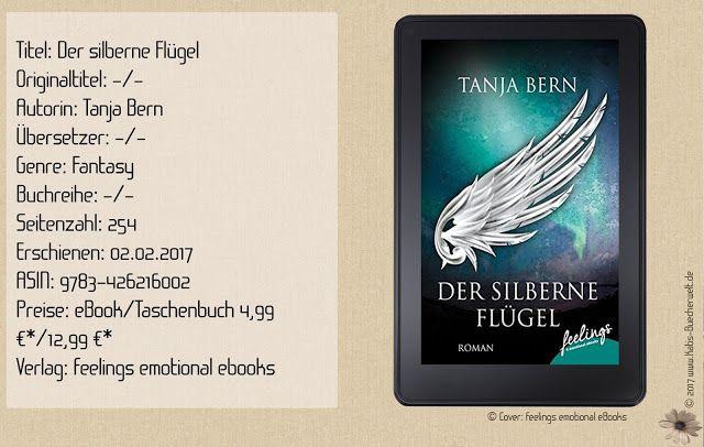 """""""Der silberne Flügel"""" von Tanja Bern erzählt eine mystische Geschichte über Engel hinter der atemberaubenden Kulisse der Skanden im westlichen Schweden. Trotz kleinen Schwächen ist es eine ansprechende Erzählung zum Abschalten und Nachdenken. ~ greifbare Kulisse ~ zu wenig Gefühl, Action & Tiefe ~ nette Story für zwischendurch mit Wohlfühlfaktor."""