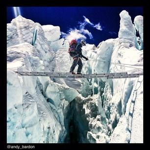 Khumbu Icefall, Mount Everest/Chomolunga
