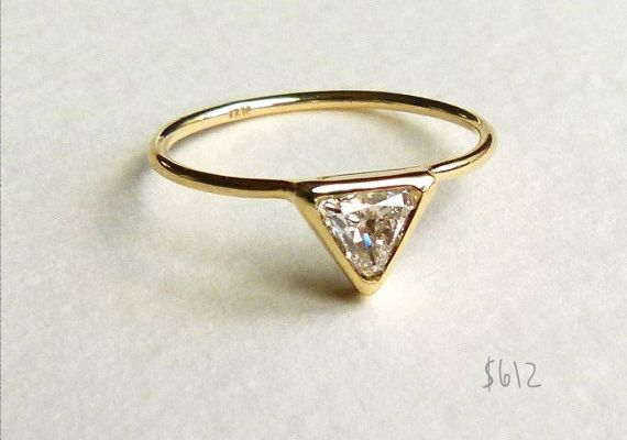 Inexpensive engagement ring ideas | Wedding Wardrobe | 100 Layer Cake