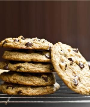 """Vegan Chocolate Chip Cookies - And as again I used rice flour which is gluten free/wheat free. As I have celiac Disease and require particular things changed to suit my diet. And with the """"dark chocolate chips"""" make sure they are over 70% coca and are wheat free etc."""