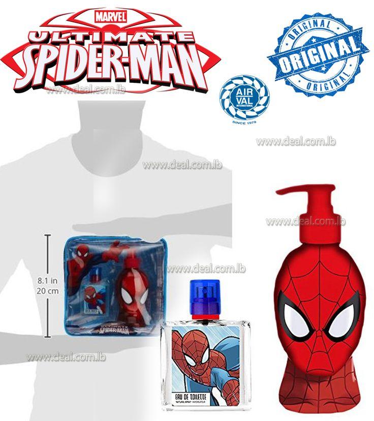 Spiderman Children's Bag - Eau de Toilette 50 ml + 3D Shower Gel 250 ml