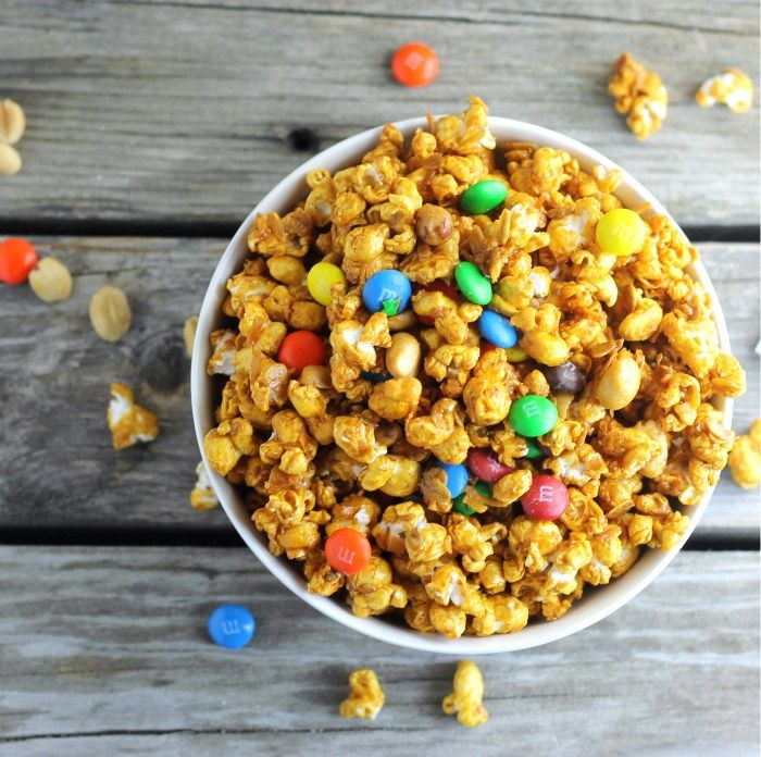Caramel Popcorn Trail Mix