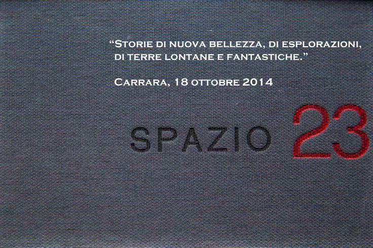 Ci vediamo a Carrara, 18 ottobre 2014 - via Loris Giorgi 8   ore 17