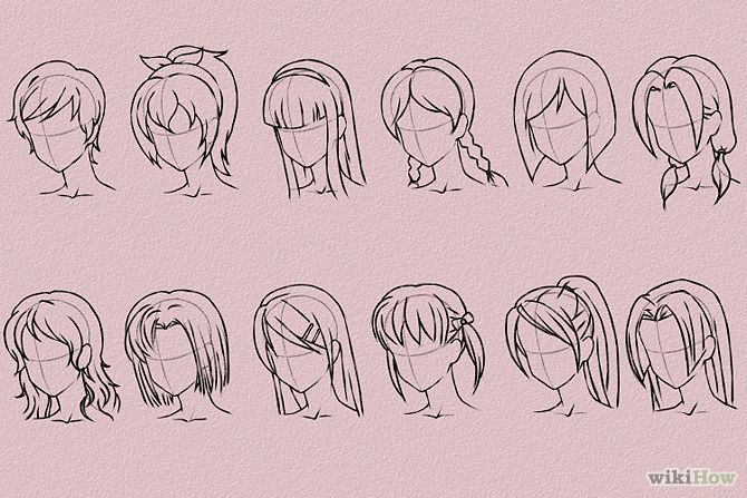 Draw Anime Hair Step 16 Version 2.jpg