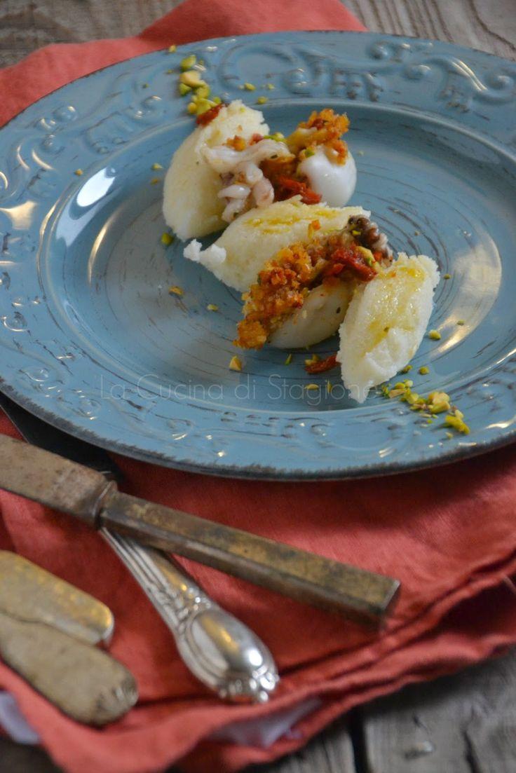 La Cucina di Stagione: Seppioline ripiene di pomodori secchi e pistacchi ...