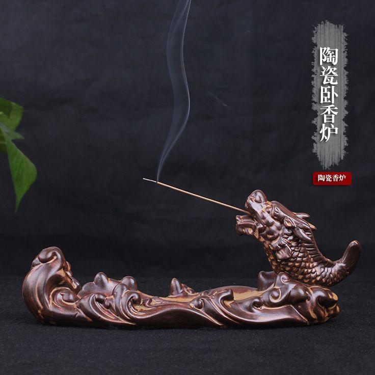 Antique ceramic ornaments fragrant sandalwood oil burner antique stove features bergamot fragrance fragrance incense furnace