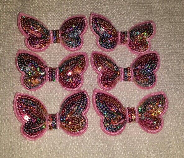 Pink Sequence  Butterflies