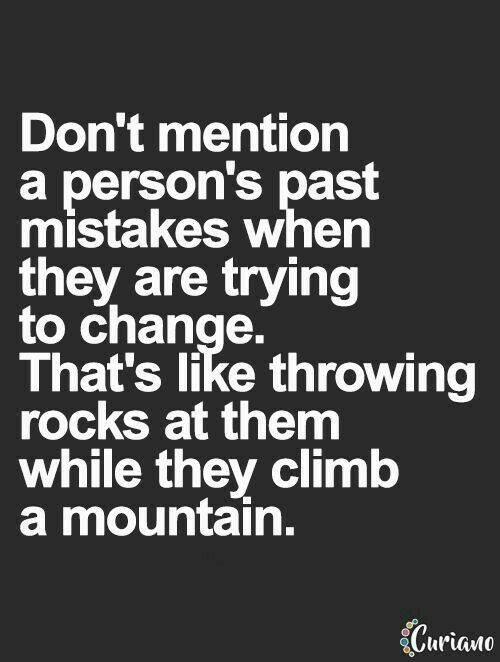 Hmm..food for thought. Hard to know whether someone is actually trying to change though....or jut continuing in their selfish lies. :-/