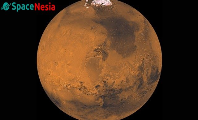 Planet Mars. Kredit: NASA/JPL-Caltech   SpaceNesia - Mars tampaknya merupakan planet tujuan utama untuk penjelajah luar angkasa manusia....
