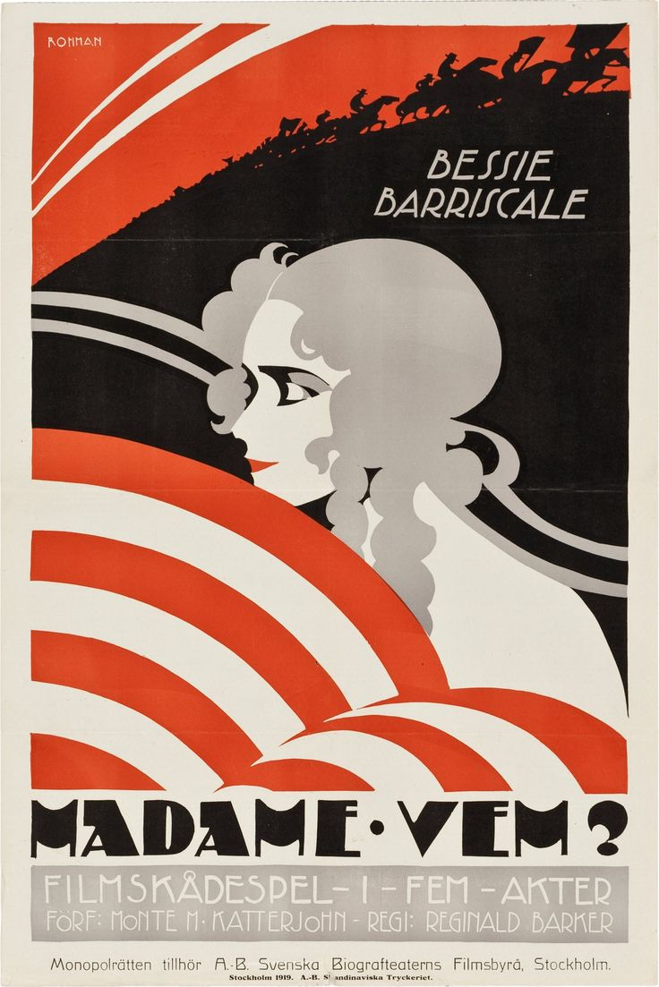 Poster design 1900 - Find This Pin And More On Movie Posters 1900 1920 By Edofcourse