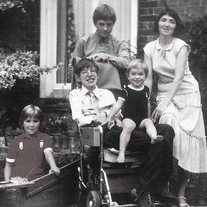 Stephen Hawking: My three children have brought me great joy. #StephenHawking #whatbringsmejoy