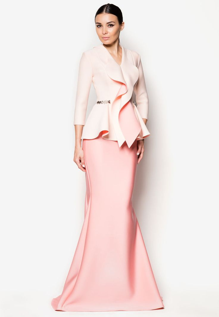 Long dress zalora makassar