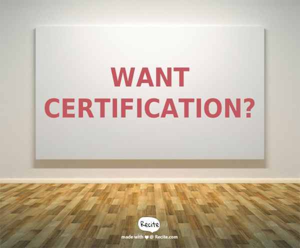 Want certification? - see here how to get your phlebotomy certification