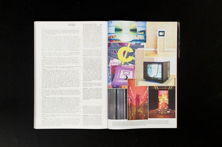 Mousse Magazine 55 ~ #omarkholeif #sophialmaria #moussemagazine #contemporaryart #art #magazine