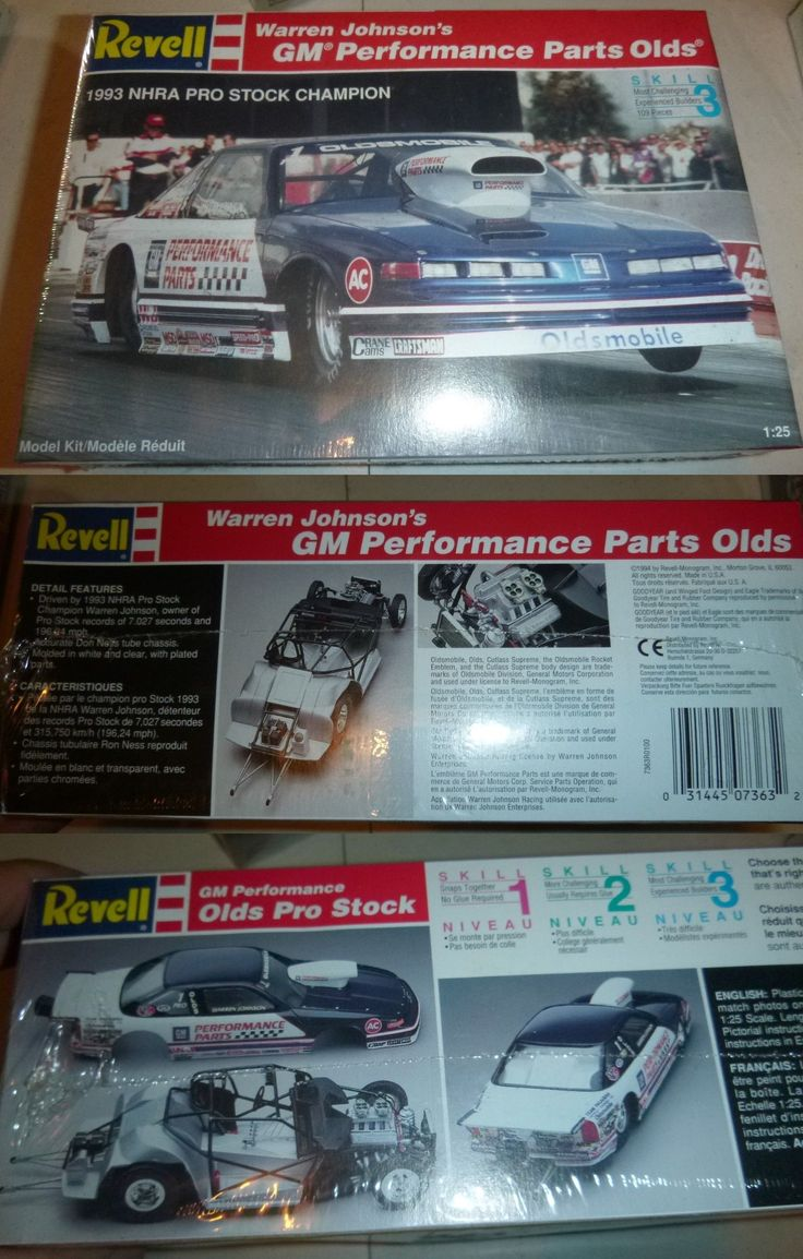 Classic 2581 Revell Warren Johnson Gm Performance Parts Olds Pro Stock Model Car Mountain Fs Buy It Now Only Performance Parts Model Kit Plastic Model Kits