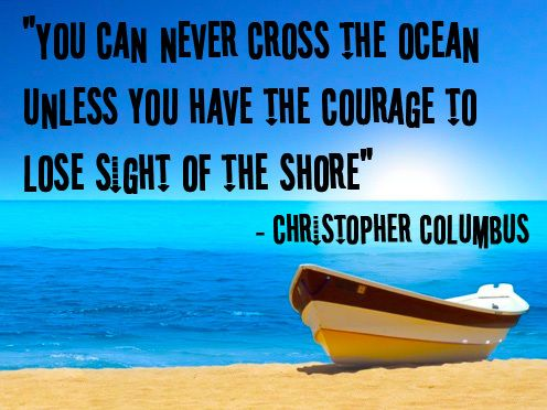 Inspiration from Christopher Columbus