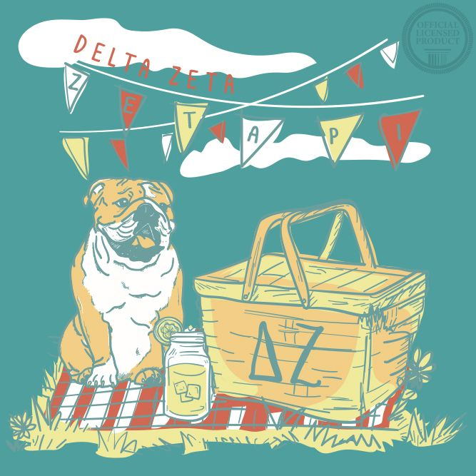 South by Sea | Greek Tee Shirts | Greek Tank Tops | Custom Apparel Design | Custom Greek Apparel | Sorority Tee Shirts | Sorority Tanks | Sorority Shirt Designs | Sorority Shirts | TShirts | Sorority T-Shirts | Classic | Custom Greek TShirts | Greek Life | Sorority Clothes | Sorority T-Shirt Ideas | Custom Designs | Custom | Custom Greek | Sorority | Custom Printed T-Shirts | Recruitment | Dog | Picnic | Basket | Flags | Banners | Delta Zeta