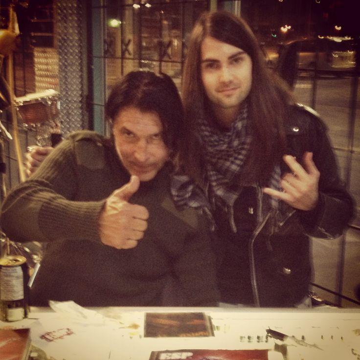 Tony and George Lynch (Dokken/Lynch Mob)  Follow us here : www.facebook.com/rustedrock  Twitter : @rusted_rock  Instagram : @tonyrust