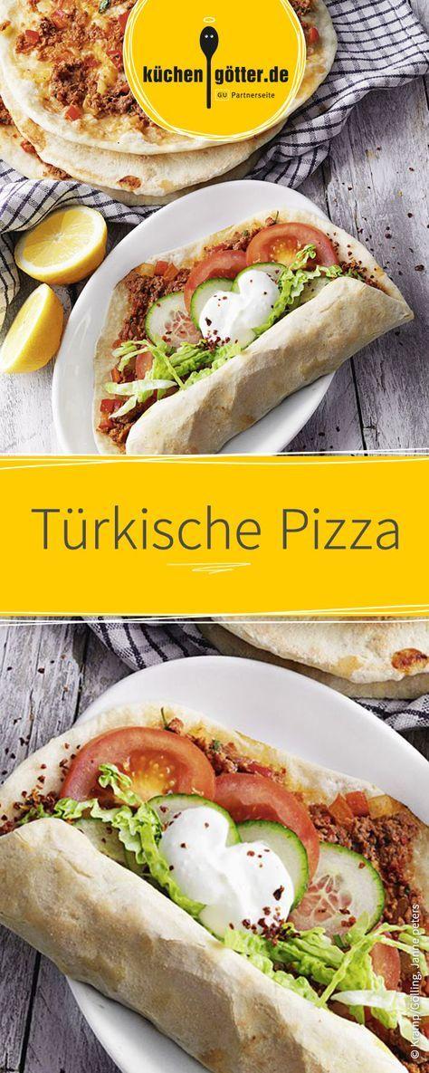 Türkische Pizza, auch Lahmacun genannt, schmeckt Groß und Klein und ist im Handumdrehen zubereitet.
