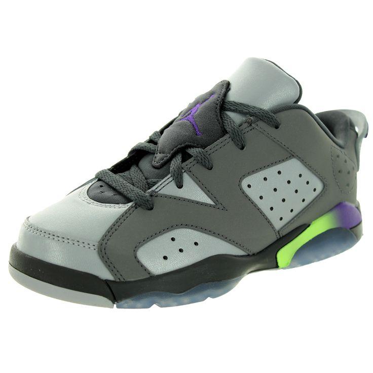 Nike Jordan Kid's Jordan 6 Retro Low Gp Dark /UltrWlf /Ghst G Basketball Shoe