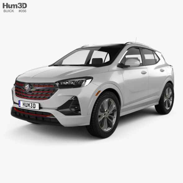 Buick Encore Gx St 2019 Car 3d Model Article Design Buick