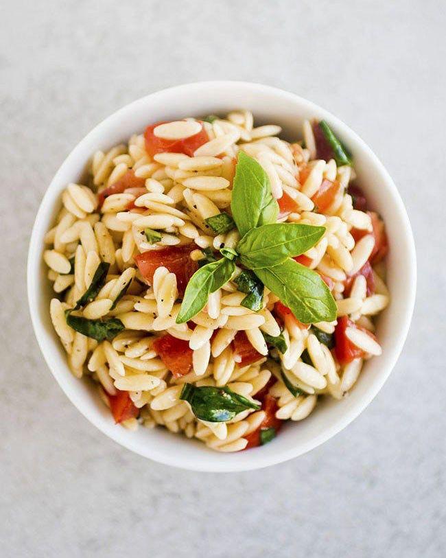 Easy Lemon Orzo Pasta Salad – Family Dinners