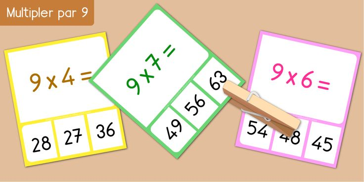 55 best multiplication apprendre les tables de for Multiplication table of 85