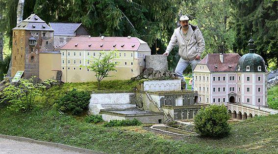 Miniaturpark Boheminium v Mariánských Lázních :: Tipy na Výlety a zábava