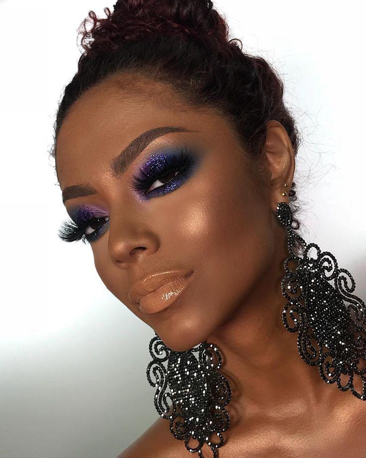 PQ EU SOU AFRONTOSAAAA HAHAHAHAHAHAHAH Gloss Pri, fica lindo em pele negra. @linhabrunatavares Usei as bases da Bru na cor 7 e 7.5… | Inspo de 2019 | Maquiagem pra pele negra, Pele negra e Maquiagem