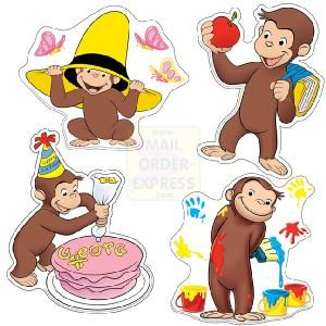 free printable curious george | Curious George Coloring Pages, Free Printable…