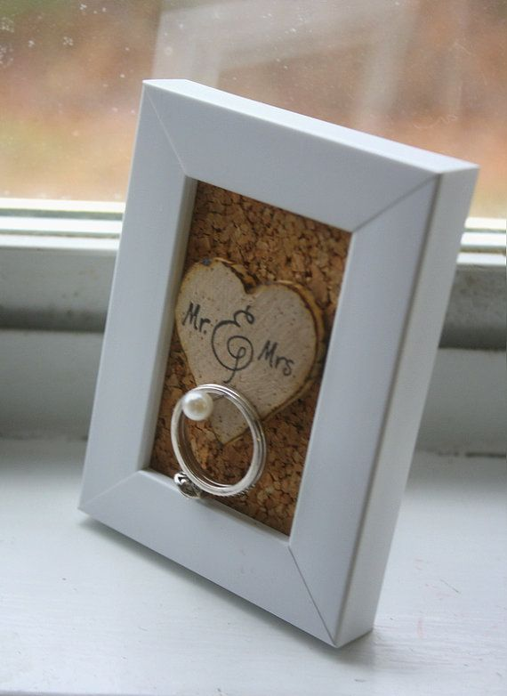 Create a ring holder frame to keep rings from going down the drain!