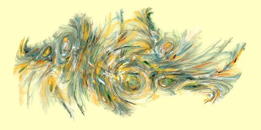 Vibrant and meditative works of abstract art conjured from complex fractal equations.