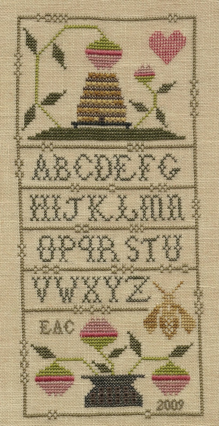 Garden Grumbles and Cross Stitch Fumbles: Summer Alphabet Sampler - Finish