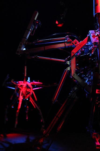 e-merge: Hysterical machines by Bill Vorn © Barbara Haemmig de Preux / C2-MTL #C2MTL