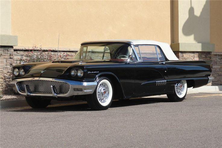 1958 Ford Thunderbird – Black