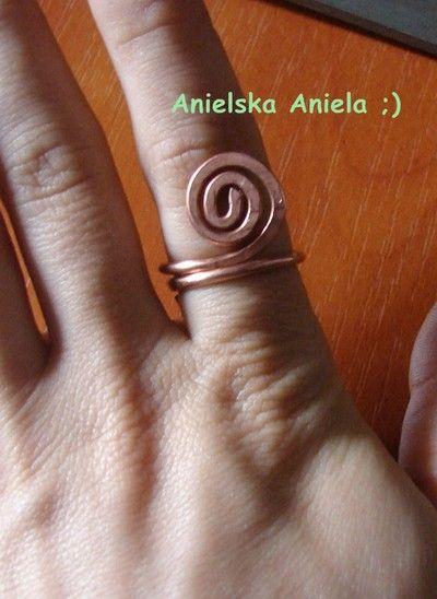 Jak zrobić pierścionek z drutu?...how to make a ring?...