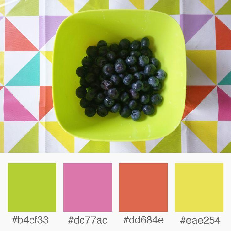 Weekly Colours Inspiration – Berries: Green, Pink, Orange, Yellow  | Varró Joanna Design | Corporate Identity | Branding | Graphic Design | Inspiration | Graphic Designer